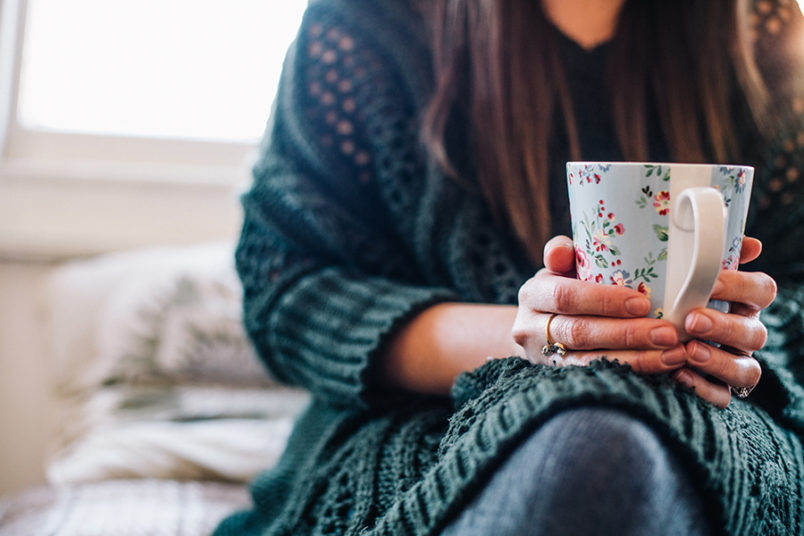 While meditating on being one month pregnant over her cappuccino, this author's pregnancy story inspires deeper faith in God.