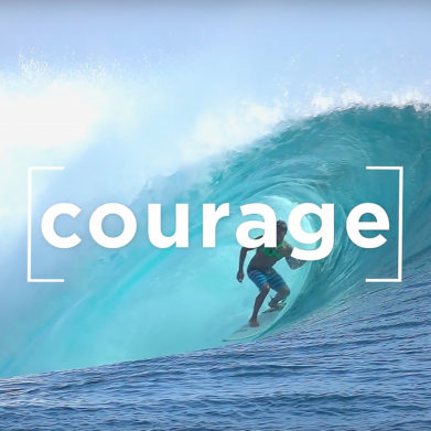 """Saint Katharine Drexel quote on courage: """"Press forward and fear nothing."""""""