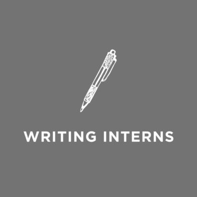 Grotto Writing Interns page.
