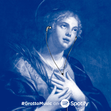 Who was Saint Agatha? Learn more about the patron saint of breast cancer through our Spotify playlist.