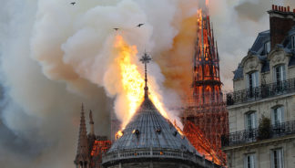 Read this author's reflection about the Notre Dame Cathedral fire and why it was so hard to watch.