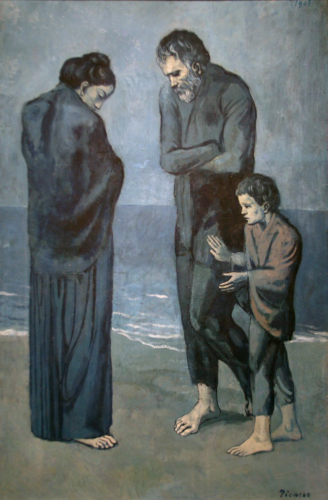 Mapping a Journey Through Grief with Picasso 1