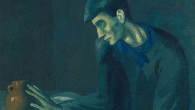 Read how this author explains how we can find the beauty within Picasso's Blue Period.