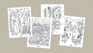 Download these free Advent coloring pages to help reflect on the holiday season.