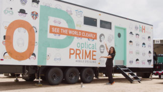 Watch how the Half Helen Foundation help children see with their mobile eye clinic.