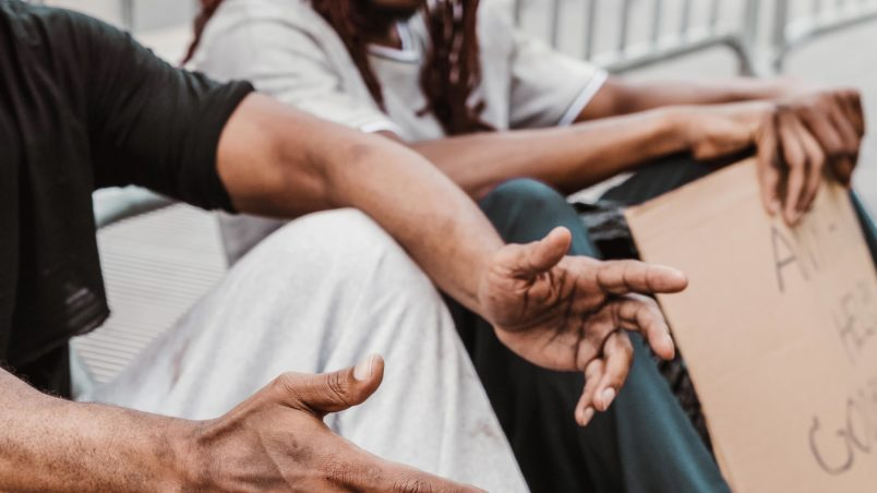Read about how to get connected with others to learn about how to help the homeless.